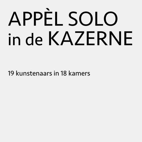Appel Solo in de Kazerne 2017
