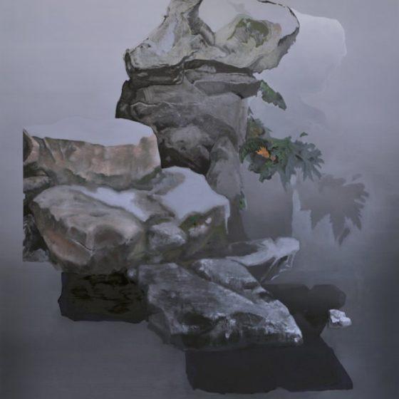 seen - scene 2, 210 x 160 cm, olieverf op doek, 2019