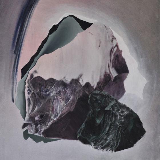 loud landscapes, silent surfaces 3, 130 x 170 cm, oil on canvas, 2018