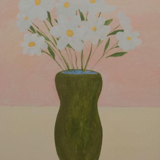sweet flowers, 2020, olieverf op doek, 100 x 65 cm