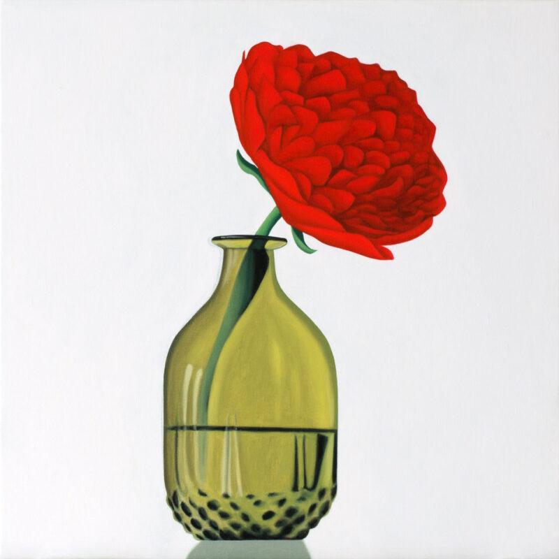 rose, 50 x 50 cm, oil, 2020