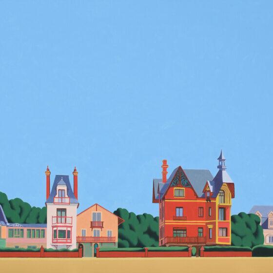 Houlegate, 65 x 80 cm, oil, 2020