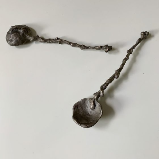 Spoon 2020, Brons, Afm. 3 x 6 x 24 cm