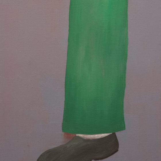 leg, 2020, olieverf op doek, 60 x 50 cm