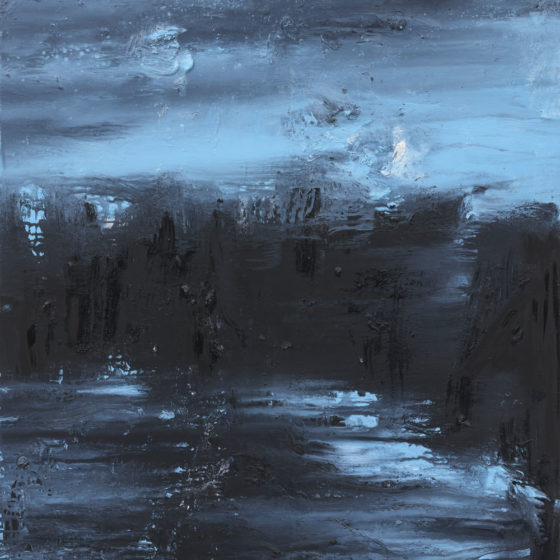 Hora Azul, 140 x 100 cm olieverf op linnen, 2018