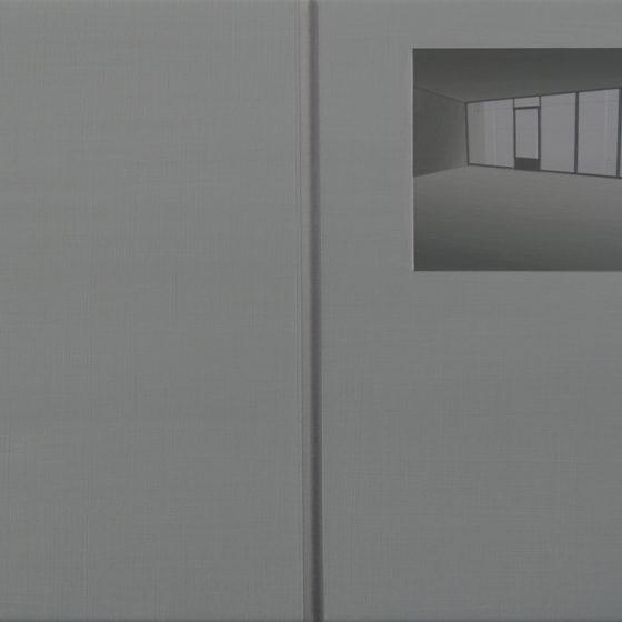 catalogus, acryl op linnen, 35 x 50 cm, 2018