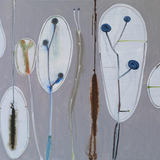 zt, acryl op doek, 2018, 100 x 110 cm