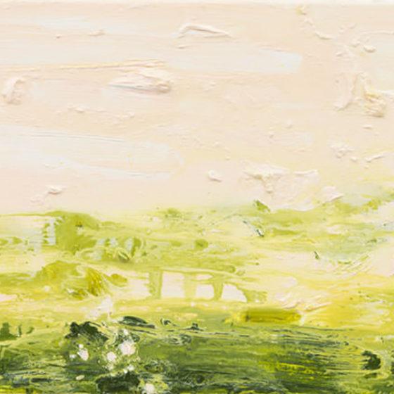 Primavera ll, 30 x 50 cm, olieverf op linnen, 2018