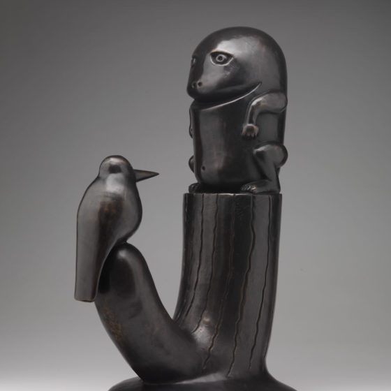Repelsteeltje, 2013, brons, 47 x 32 x 23 cm.