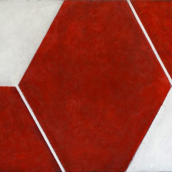 Zonder titel, olieverf op doek, 40 x 50 cm., 2017