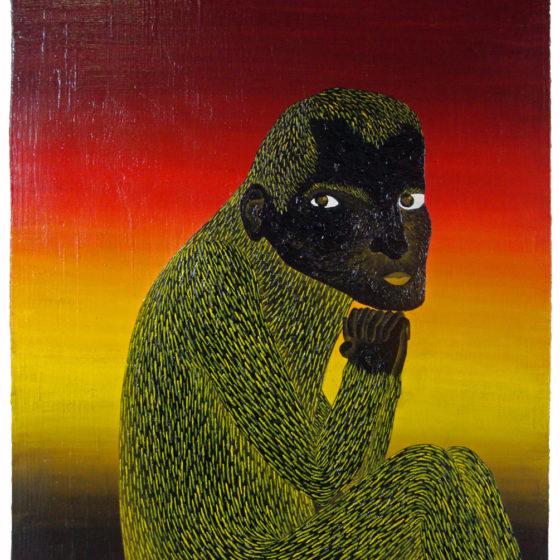 paul, olie op hout, 65 x 54 cm, 2014