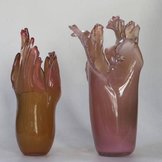 bloemenvazen, glas