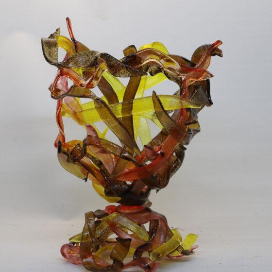 Herfstbokaal, H. 45 cm., 2020