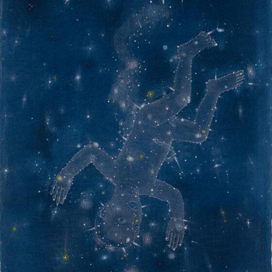 de Zoon, gouache en potlood op papier, 76 x 58 cm., 2020