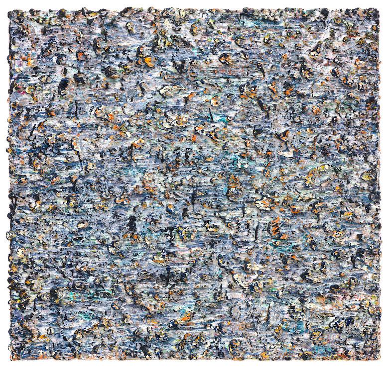 nr. 14, olieverf op doek, 85 x 90 cm., 2018