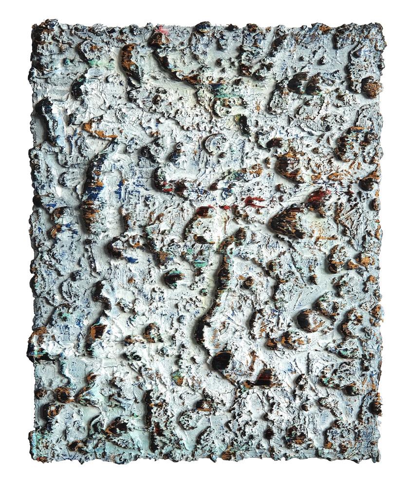 z.t., olieverf op doek, 50 x 40 cm, 2017
