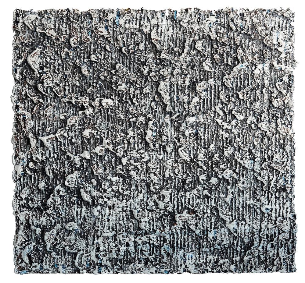 z.t., olieverf op doek, 85 x 90 cm, 2017