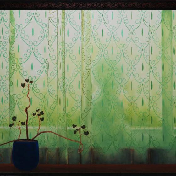 attica, 128 x 168 cm, acryl en olieverf op doek, 2020