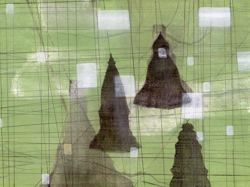 windows, aquarelverf, gouache/papier, 2016, 30 x 40 cm