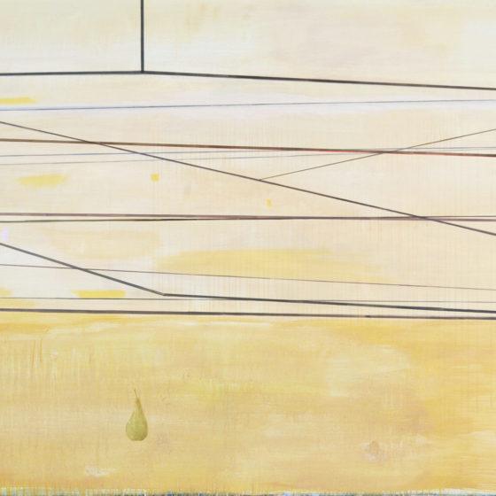 slow wind, acrylverf/doek, 2015, 140 x 180 cm