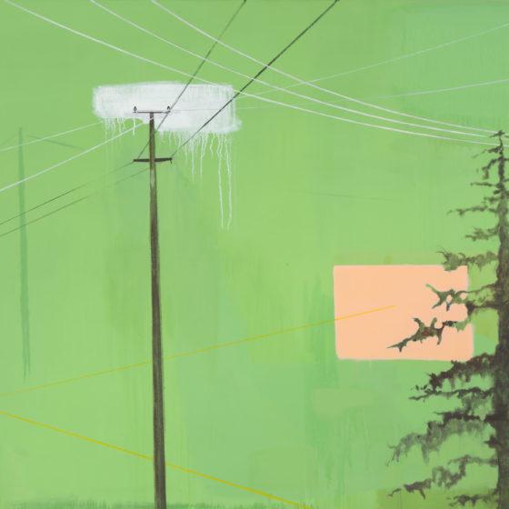 connected, acrylverf/doek, 2013, 120 x 170 cm