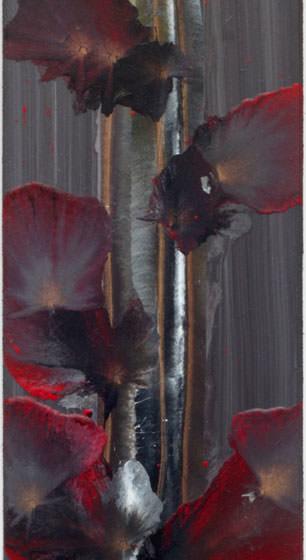 geen titel, 2020, acrylverf op paneel, 60 x 15 cm