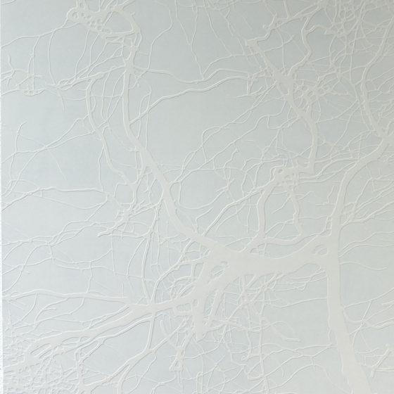 Diffusion, acryl op mdf, 120 x 100cm
