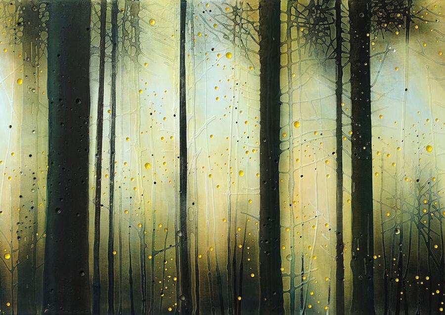 landschap, acryl op mdf, 80 x 180 cm, 2021