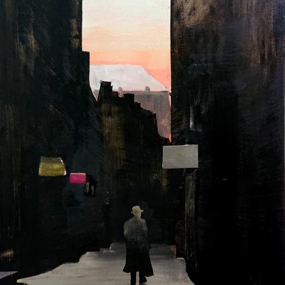Downtown, 2019, 120 x 80 cm