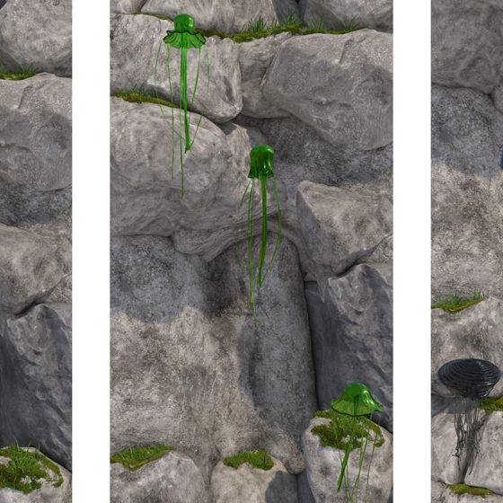 QU.movi, 2019, -excerpt- 3D-animation, continuous