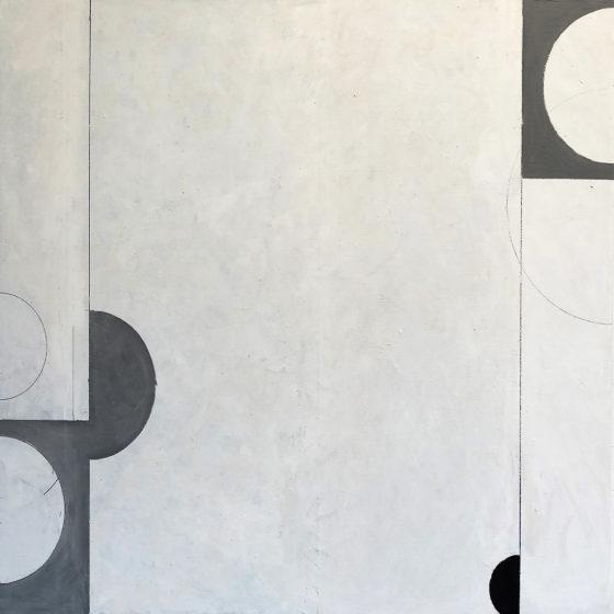 Zonder titel, olieverf op doek, 90 x 100 cm, 2016