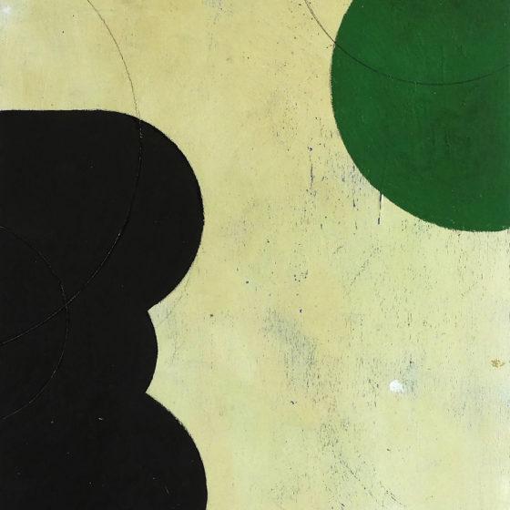 zonder titel, olieverf op paneel, 40 x 30 cm, 2016
