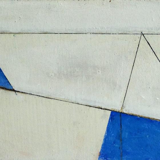 zonder titel, olieverf op paneel, 15 x 24 cm, 2016