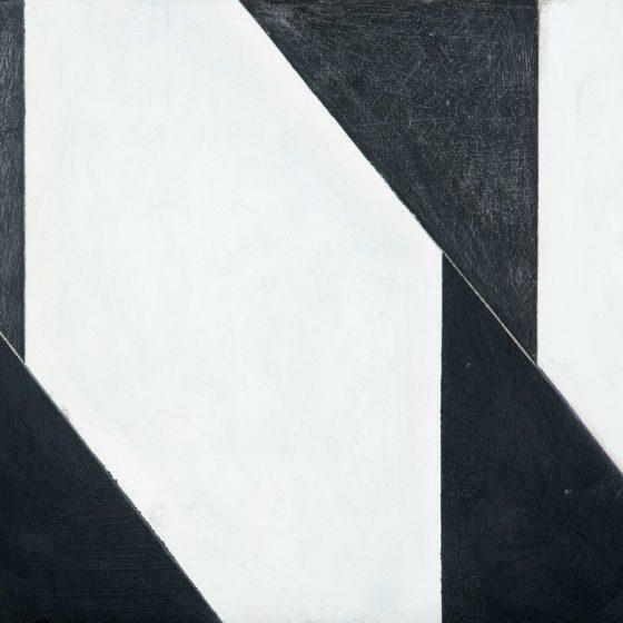 zonder titel, olieverf - grafiet op paneel, 30 x 40 cm, 2016