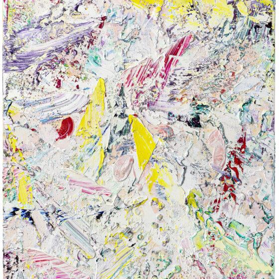 z.t., 130 x 110 cm, olie op doek, 2020