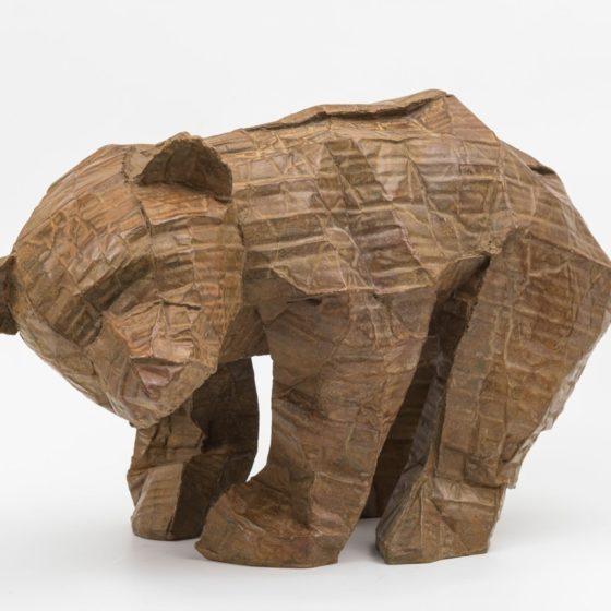 Dozy, 2016, brons, 37 x 61 x 36 cm