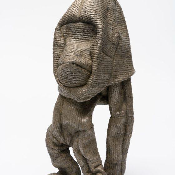 Hoofdpersoon, 2019, brons, 35 x 13 x 17 cm