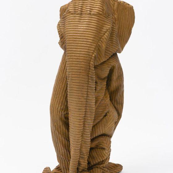 Pied-à-terre, 2020, brons, 78 x 34 x 34 cm