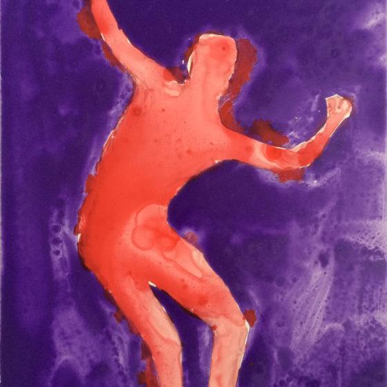 Phantom Dancer, 40 x 30 cm, olieverf op paneel, 2018