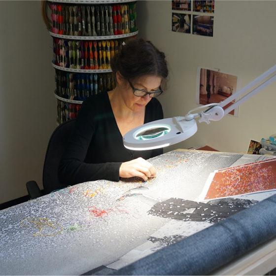 Kunstenaarsontmoeting Jenny Ymker