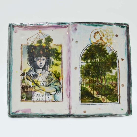 getijdenboek dooddoeners 1, 2020, Keramiek, 18 cm