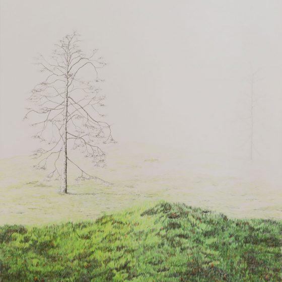 Jotunheimen 2, 50 x 66 cm, 2018