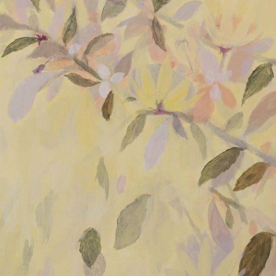 Blossem, 40 x 50 cm, acryl op linnen, 2020