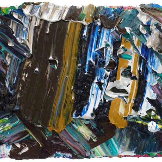 ZT, olie op doek, 18 x 24, 2020