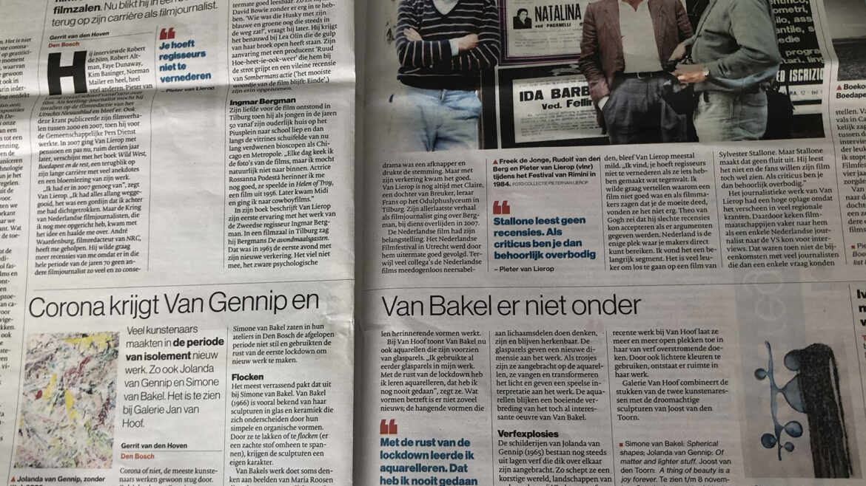 Brabants dagblad 23 oktober 2020