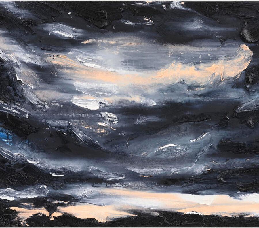 Noorwegen, 100 x 140 cm, olieverf op linnen