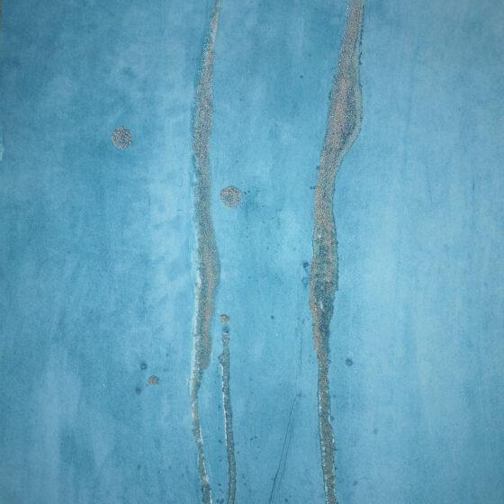 GlassWeeds I, 2019, 56 x 42 cm