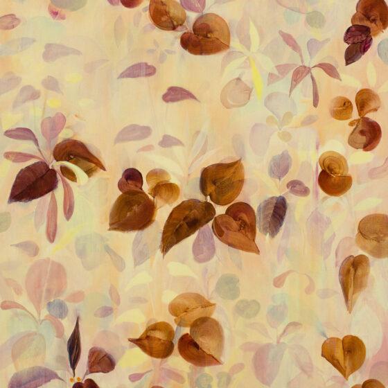 Caramel, acryl op linnen, 100 x 120c m, 2020