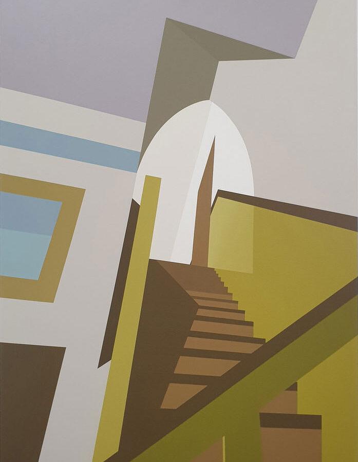 Molen, 150 x 100 cm, acryl op linnen, 2020