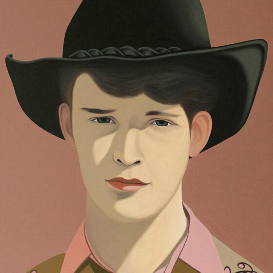 Cowboy Sep, 150 x 120 cm., oil, 2020